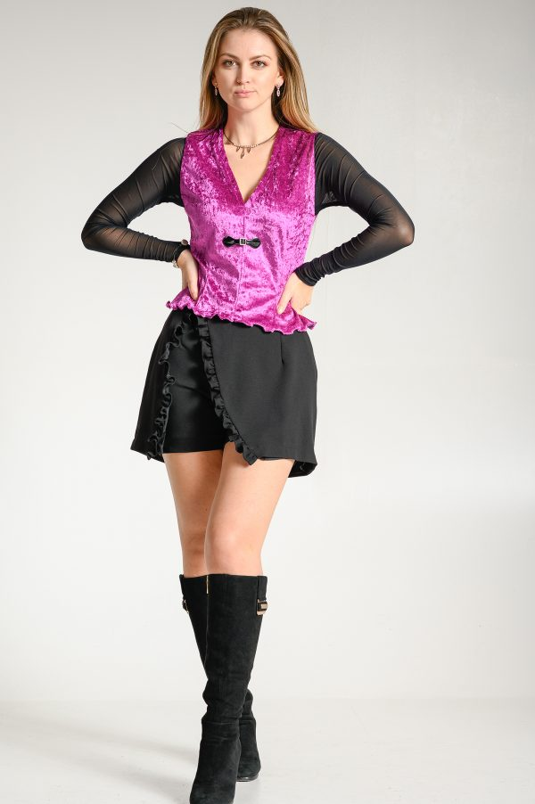 Falda Pantalón Negra