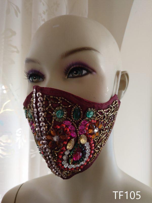 Mascarilla de Fiesta - Complementos - Kyoka Clothing